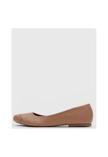 Sapatilha Dafiti Shoes Recortes Nude