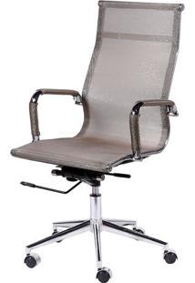 Cadeira Office Eames Em Tela- Cobre- 112X61X47Cmor Design