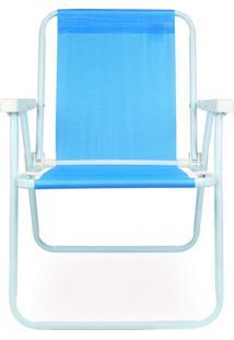 Cadeira Alta De Praia Azul Mor 002283