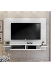 Painel Para Tv Até 55 Polegadas Com Prateleiras Vitória Mavaular Branco