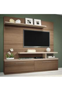 Estante Para Tv Maxx Macchiato/Naturale - Hb Móveis