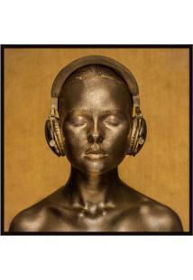 Quadro Decorativo Golden Tones - Nicole Wells