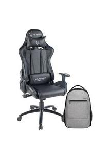 Cadeira Gamer Husky Gaming Storm, Preto + Mochila Targus Urbanite Plus 15.6´