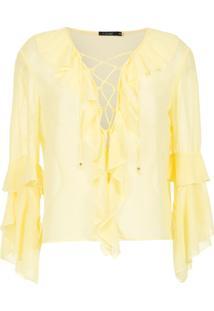 Corporeum Blusa 'Basic' Lisa - Amarelo