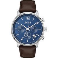 0d01997e5f0 Relógio Hugo Boss Masculino Couro Marrom - 1513606