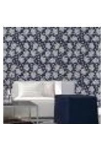 Papel De Parede Autocolante Rolo 0,58 X 5M Floral 129085823