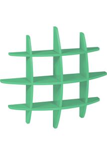 Prateleira Decorativa Média Taylor 598--824 Verde Anis Maxima