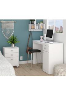 Conjunto Home Office Bkd05 - Brv Elare