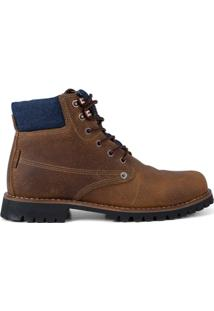 Bota Work Boots Jackson Levis - Masculino-Marrom