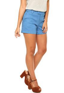 667248e9a ... Short Jeans Cantão Alfaiataria Bel Azul