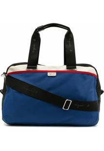 Agnès B. Colour-Block Shoulder Bag - Colorido