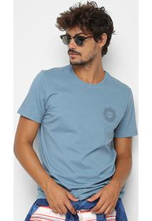 Camiseta Kohmar Lisa Meia Malha Masculina - Masculino
