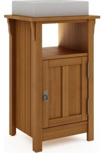 Gabinete Para Banheiro 1 Porta Mission Jatobá - Mão & Formão