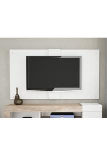 """Painel Para Tv Ate 50"""" 1.6 Ultra Branco Fosco - Caemmun"""