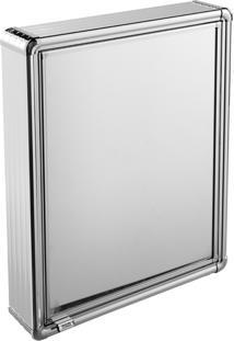 Espelheira Para Banheiro Astra Lbp13/S 1 Porta 44X58Cm Alumínio