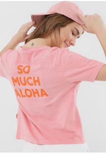 Blusa Billabong So Much Aloha Rosa - Kanui