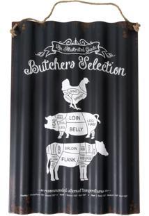 Placa Decorativa Butchero Selecion
