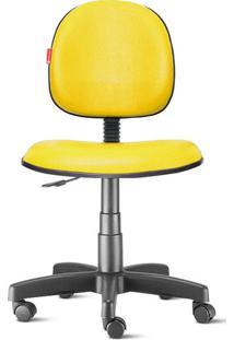 Cadeira Executiva Giratória Courvin Amarela