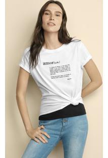 Blusa Feminina Hering + Akapoeta