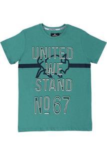 Camiseta Old West 21737 Masculina - Masculino-Verde