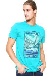 Camiseta Malwee Estampada Verde