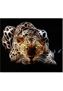 Quadro Decorativo Animal Onça M2