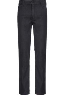Calça Masculina Black 9 Slim Plaquinha - Preto
