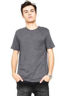 Camiseta Hering Bolso Cinza