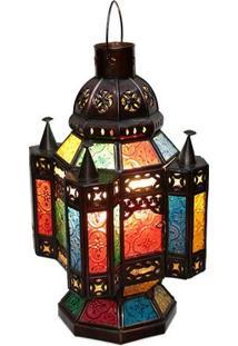 Abajur Estilo Marrakesh Color Bali