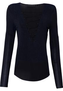 Blusa Sparkle (Azul Medio, Pp)
