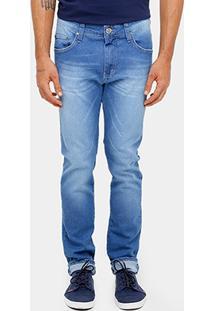 Calça Jeans Skinny Colcci Felipe Elastano Stone Masculina - Masculino