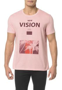 Camiseta Ckj Mc Estampa New Vision - Pp