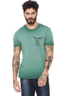 Camiseta Replay Flame Verde