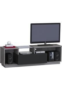 Rack Home Solid Com 1 Gv Cinza 180 Cm