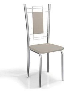 Cadeira Kappesberg Florença 4C005 (4 Uni) Cromada/Nude