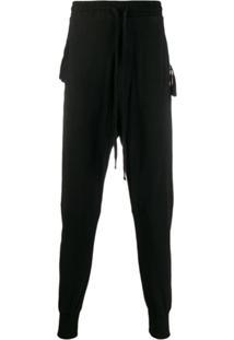 Thom Krom Drawstring Waist Trousers - Preto