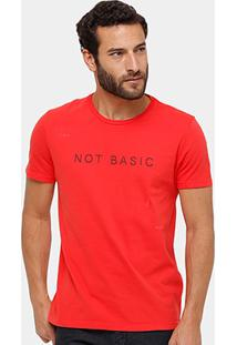 Camiseta Calvin Klein Not Basic Masculina - Masculino