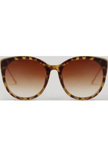dad0a87b5 Óculos De Sol Dourado U2 feminino | Gostei e agora?