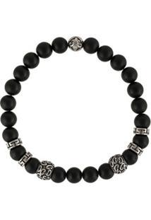 Nialaya Jewelry Pulseira 10 Year Anniversary Collection - Preto