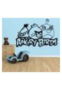 Adesivo De Parede Angry Birds 3 - G 58X86Cm