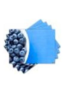 Jogo Americano - Blueberry Com 4 Peças - 405Jo