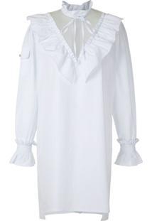 Andrea Bogosian Vestido Curto Rory - Branco