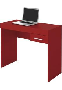 Escrivaninha Laguna P/ Notebook Vermelha