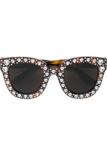 c30a6f2518d3e R  6411,00. Farfetch Gucci Eyewear Óculos De Sol ...