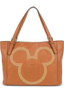 Bolsa Luxcel Mickey Mouse Marrom