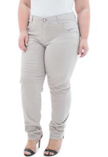 09fc16656c ... Calça Feminina Jeans Cigarrete Munich Plus Size