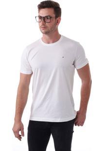 Camiseta Vista Mare Básica Nada Básica Slim Fit Branca
