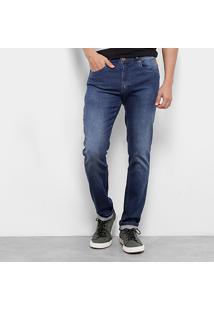 Calça Jeans Skinny Cavalera Henri Estonada Masculina - Masculino