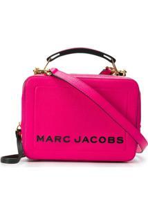Marc Jacobs Bolsa Caixa Com Zíper - Rosa