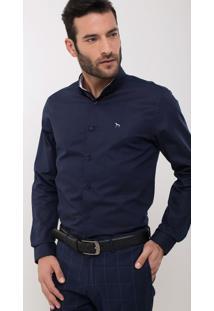 Camisa Manga Longa Social Slim